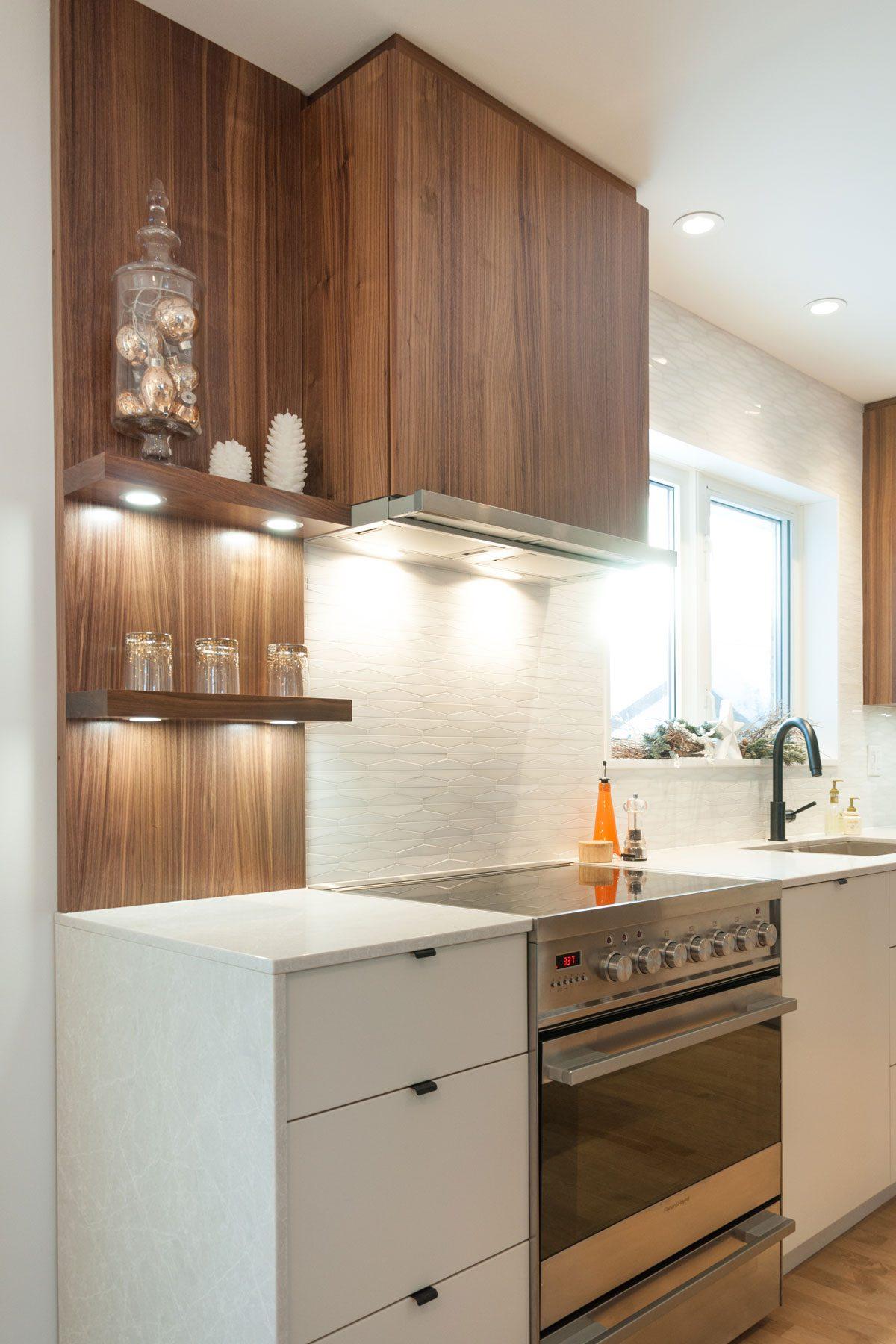 Comptoir de cuisine en quartz